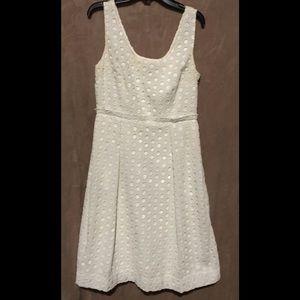 Ann Taylor sz 0 dress white